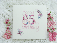 Adornment - Card - 85th Birthday